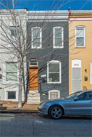 2416 Jefferson St, Baltimore, MD 21205