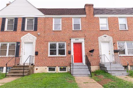 4414 Parkton St, Baltimore, MD 21229